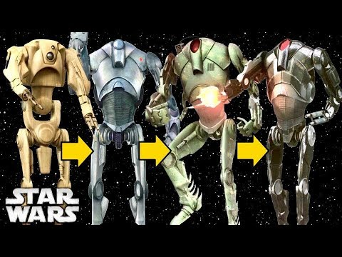 The Evolution of Super Battle Droids During the Clone Wars by the ...