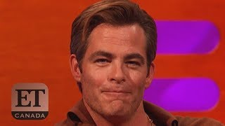 Chris Pine Talks Nude Scene In 'Outlaw King'