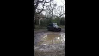 Mitsubishi Shogun Off Roading Fun