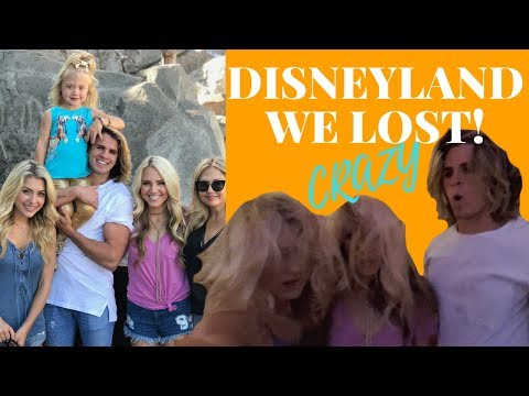 We Lost!!!! Everleigh cried :/ Disneyland with Savannah Soutas, Cole Labrant, Ever and my mama!