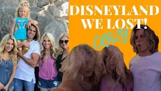 we lost everleigh cried disneyland with savannah soutas cole labrant ever and my mama