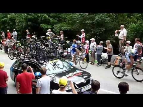 Alpe d'Huez first pass Stage 18 Tour de France Thursday 18 July 2013 #tdf