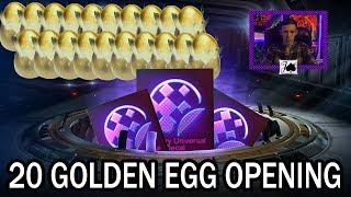 TWENTY Golden Egg Opening - BMD Pull!! (Rocket League)