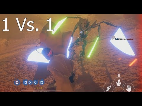 OBI-WAN KENOBI Vs. GENERAL GRIEVOUS ON GEONOSIS! - Battlefront 2 Gameplay thumbnail