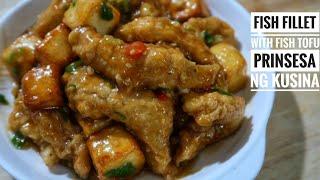 Fish Fillet with Fish Tofu