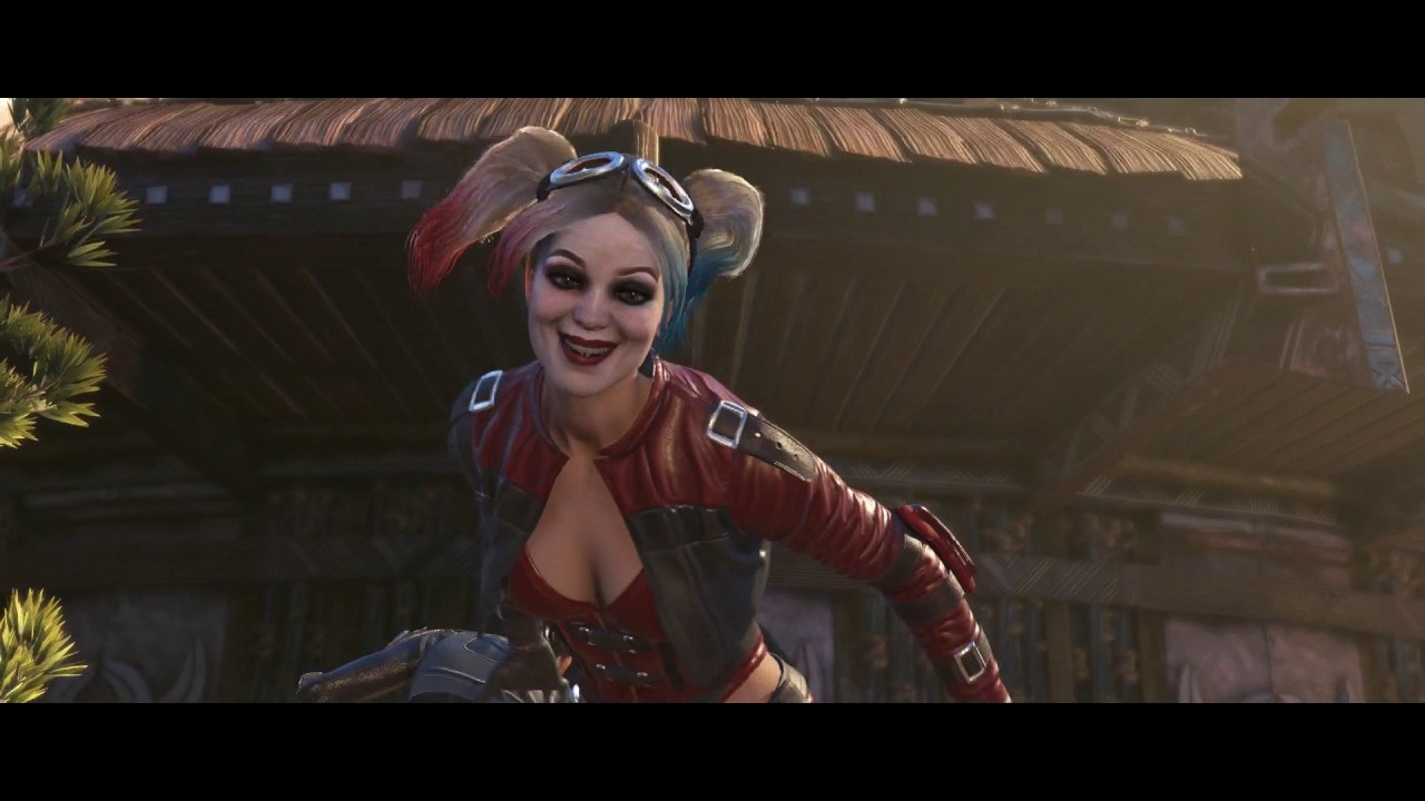 Injustice 2 - Chapter 4 Invasion Harley Quinn Freed By Catwoman Batmans Mole Action Cutscene -4716