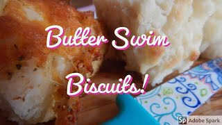 EASY! Butter Swim Biscuits  no yeast  Bread