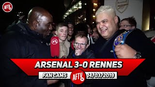 Arsenal 3-0 Rennes | Of Course We're Gonna Win The Europa League (Heavy D & Wealdstone Raider)