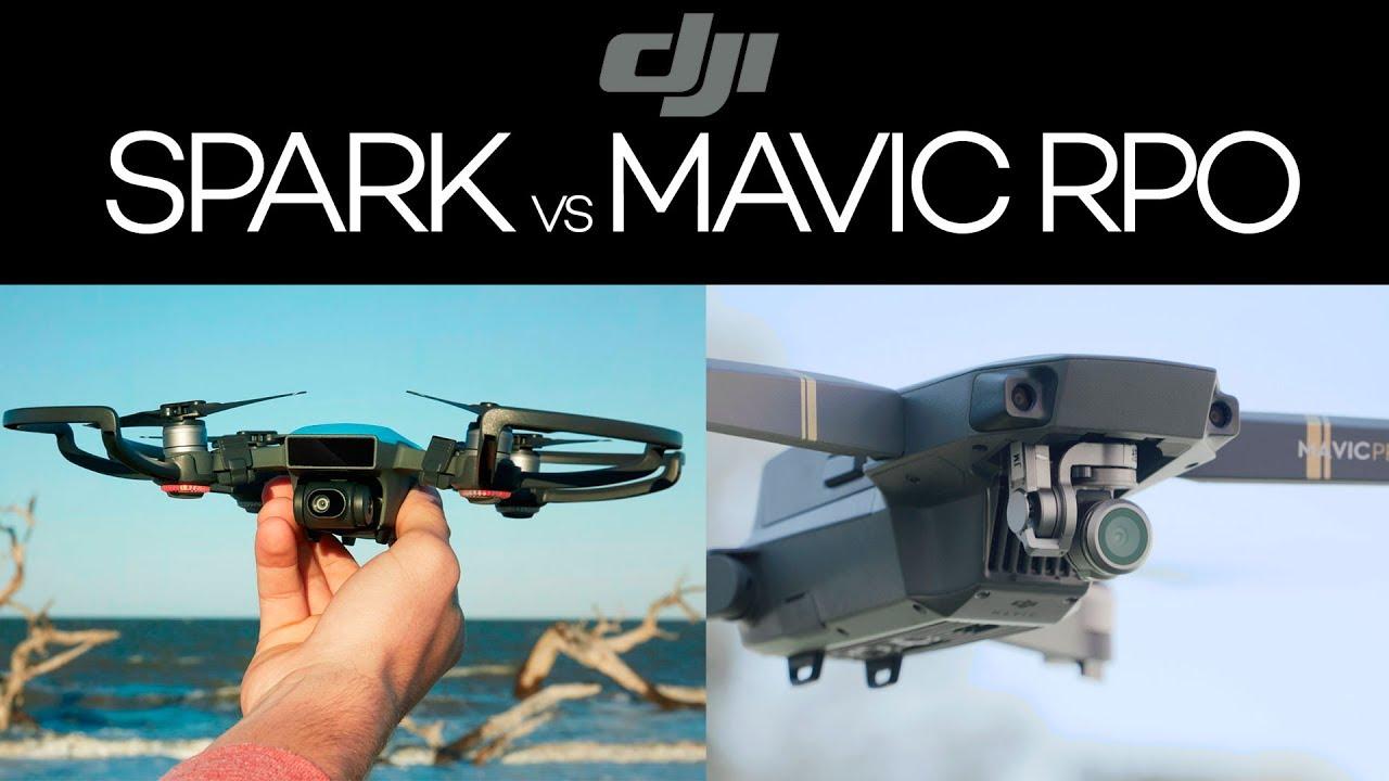 Dji Spark Vs Mavic Pro >> Dji Spark Vs Mavic Pro Youtube