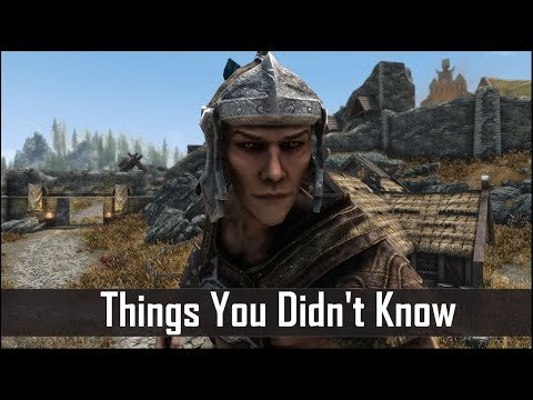 Skyrim: 5 Things You Probably Didn't Know You Could Do - The Elder Scrolls 5: Secrets (Part 11)