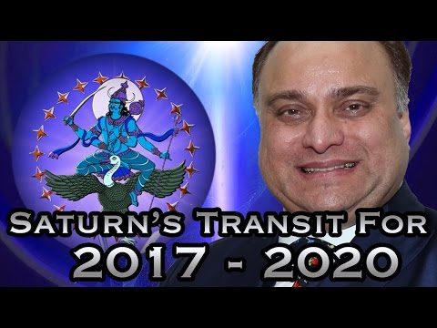 Saturn's Transit For Yearly Horoscope 2017 - 2020  In Hindi
