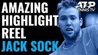 jack sock amazing atp highlight reel