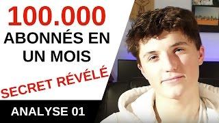 🔍 SECRET DE MICODE RÉVÉLÉ : 100.000 abonnés en UN MOIS - #Analyse 01