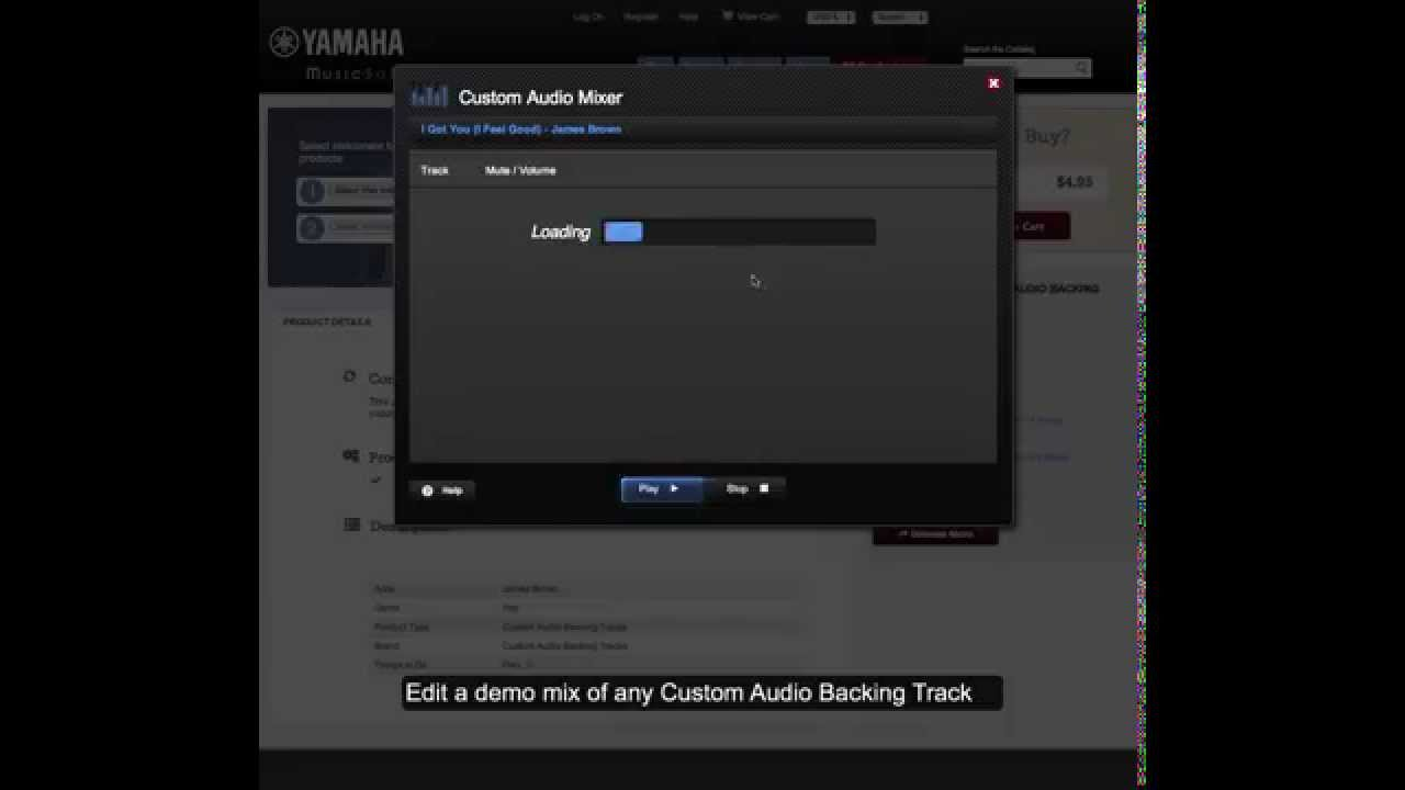 How To Use Custom Audio Backing Tracks