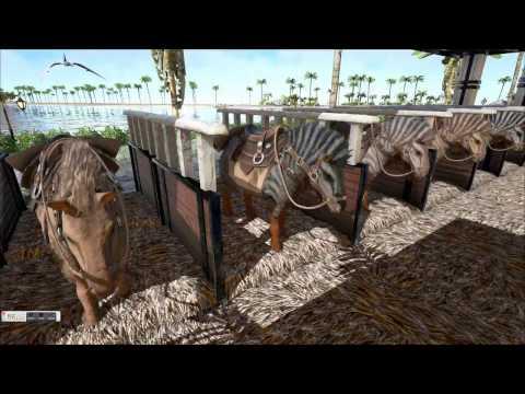 ARK Survival: ARK Horse/Dino Derby Racetrack (ARKitect)