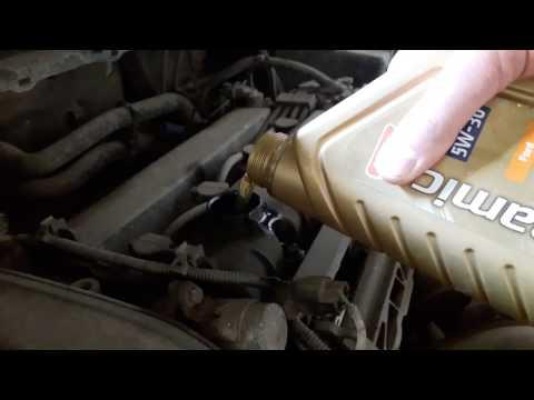 Замена масла на Форд Фокус 2