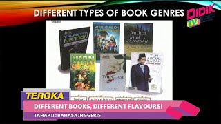 Teroka (2021)   Tahap II : Bahasa Inggeris – Different Books, Different Flavours!