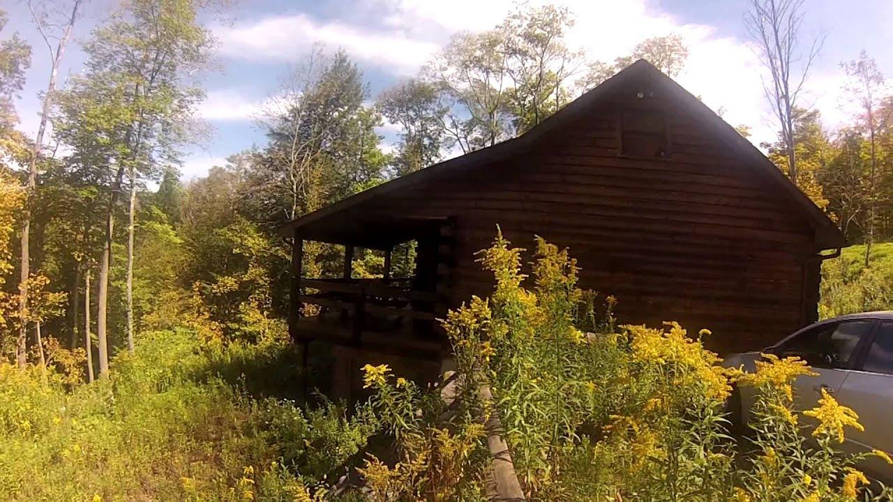 Hunter mountain log cabin youtube for Cabins near hunter mountain