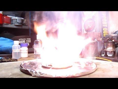 Fire Starter - Glycerin & Potassium Permanganate