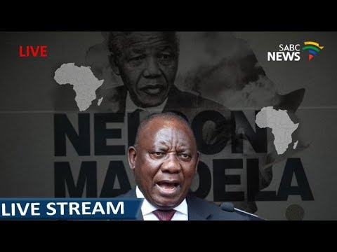 Cyril Ramaphosa delivers the Nelson Mandela Africa Day centenary Lecture in Durban
