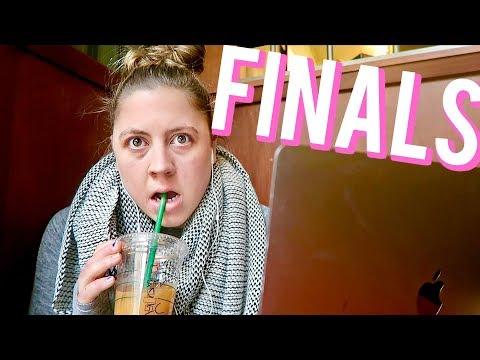 The reality of grad school finals   Vlogmas 11, 2017