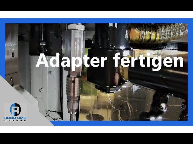 Adapter fertigen für Hochdruckanlage