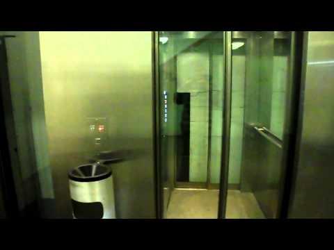 Two lifts EMCH Parking Casino Bern, Switzerland