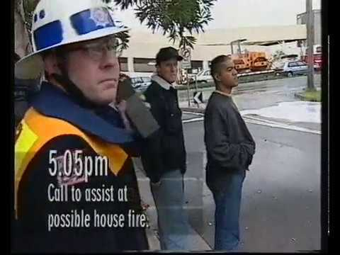 CFA Dandenong - Emergency 000 TV Show (1996)