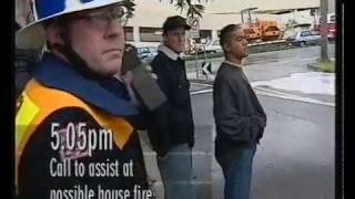 CFA Dandenong - Emergency 000 TV Show (1996)