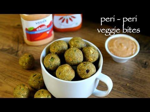 Veggie Bites Recipe - Peri Peri Vegetable Bites - How To Make Veggie Ball Recipe