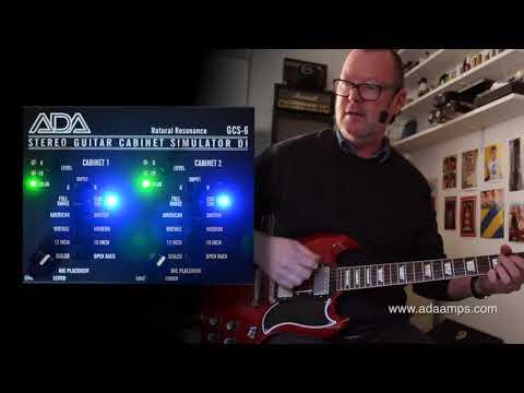 A/DA Amps: GCS-6 Stereo Cab Simulator & DI Box