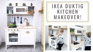 Ikea Duktig Makeover | DIY Play Kitchen | Ikea Hack