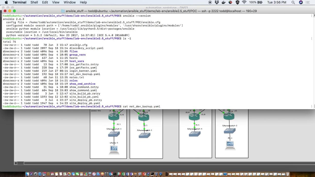Backup Cisco IOS configs Ansible 2 6