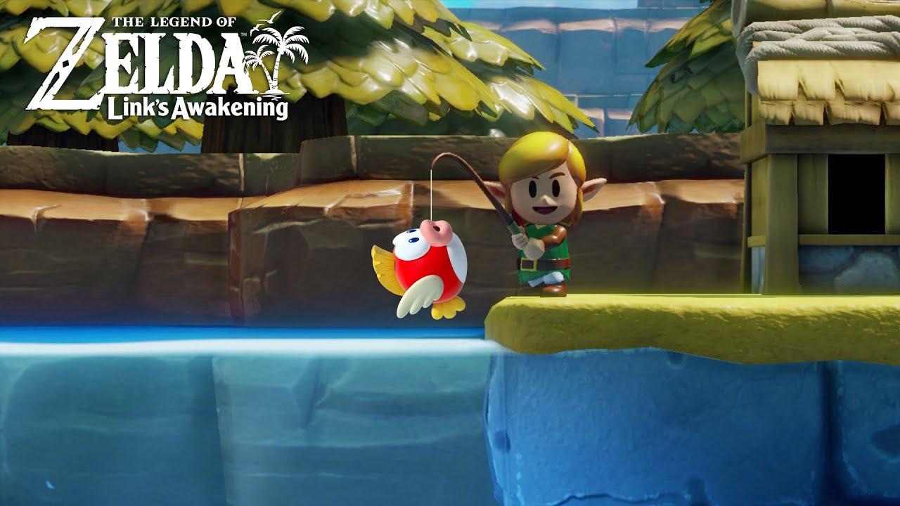 ya boi goes fishing - The Legend of Zelda: Link's Awakening thumbnail