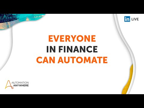 Everyone Can Automate - Finance
