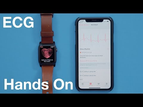 Hands-On With the ECG Feature for Apple Watch Series 4!
