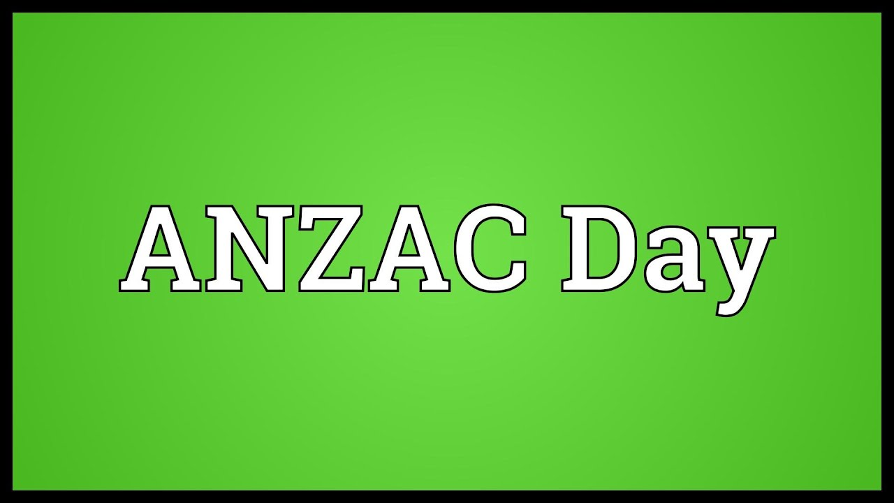 anzac meaning - photo #15