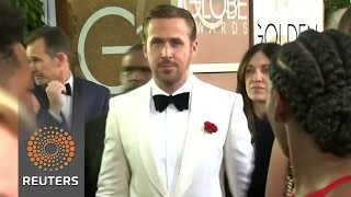 Stars walk the red carpet at the Golden Globes