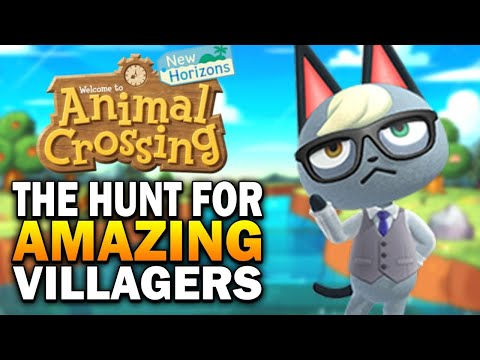 The Hunt For Amazing Villagers! Campsite Method & Mystery Islands - Animal Crossing New Horizons