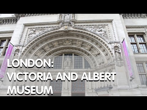 London: Victoria & Albert Museum & Gift Shop