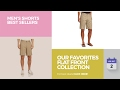 Our Favorites Flat Front Collection Men's Shorts Best Sellers