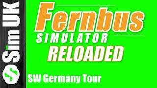 Fernbus Simulator RELOADED | SW Germany Tour #6 Heidelburg to Mannheim