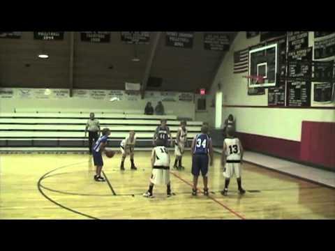 Mancos Middle School Basketball, Caleb #22