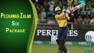 Multan Sultans Vs Peshawar Zalmi | Best Sixes By Peshawar Zalmi | PSL 2018