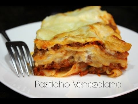 Pasticho Venezolano  La Cocina Venezolana  YouTube