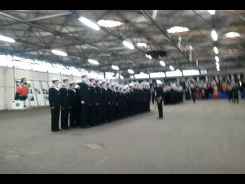 Royal Navy HMS Raleigh Passing Out Parade February 11th 2011