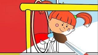 Мультик - Раскраска с Царевной - Попрыгунья - Развивающие мультики для детей
