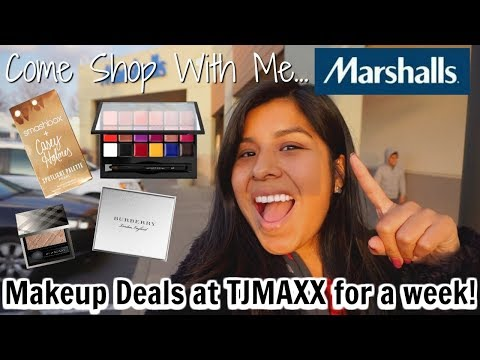 Come Shop With Me: High End Makeup Deals at Marshalls for a WEEK!