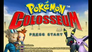 Pokémon Colosseum playthrough ~Longplay~