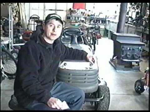 Briggs  Stratton Fuel Pump Vacuum Tube Repair on Lawn Tractor - YouTube
